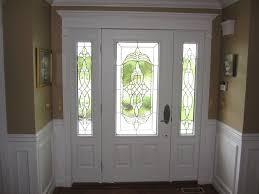front door with glass above 5 glass panel front door