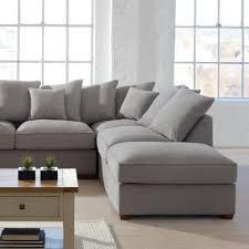 living room grey corner sofa