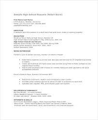 Resume Models Teenage Resume Template Resume Models