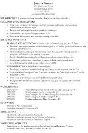 Australian Resume Example Hospitality Resume Template Objective ...