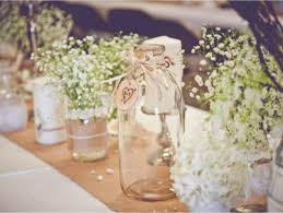 Glass Jar Table Decorations Wedding Decoration Ideas Rustic Burlap Wedding Decorations With 14