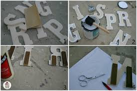 Decoration Wooden Letters Home Decor Wood Fathers DayLetter S Home Decor