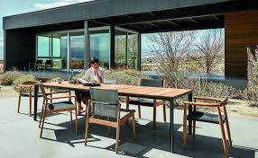Gloster Furniture Is Made From Luxury Teak Wood Hauser s Patio