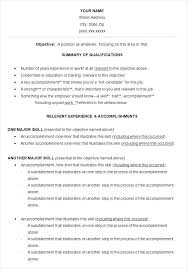 Accomplishments For A Resumes Resume Accomplishments Airexpresscarrier Com