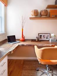 orange office furniture. Warm Orange Home Office Theme Furniture