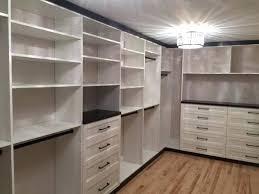 pear trees custom closets dressing rooms tables dresser master bedrooms organization chocolate flat white melamine closet
