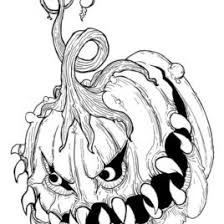 Small Picture Coloring Pages Halloween Very Scary Archives Mente Beta Most