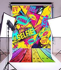 Laeacco 6x8FT Vinyl Photography Backdrop Abstract ... - Amazon.com