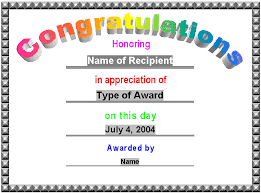 Microsoft Word Templates Gift Certificates Award Certificates Award Certificate Gift Certificate Template