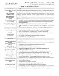 supply technician resume sample related supply technician resume sample