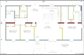 floor plan of a house with dimensions. Ranch House Floor Plans Open Plan Small . Of A With Dimensions