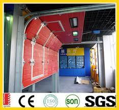 folding garage doorsCheap Automatic Folding Garage Doors With Pedestrian Roll Up Door