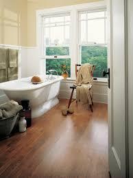Choosing Bathroom Flooring HGTV - Installing bathroom floor