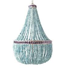 turquoise beaded chandelier spectacular chandelier turquoise beaded chandelier light