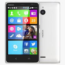 Nokia X2 Dual SIM White 3D model MAX ...