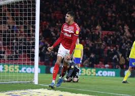 Ashley Fletcher establishes himself as Middlesbrough's main man | The  Northern Echo