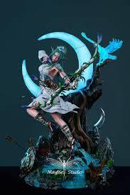 Mayflies Studio <b>World of</b> Warcraft 1/4 <b>Tyrande Whisperwind</b> GK ...