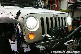 Truck Lite Jeep JK Wrangler LED Headlight Installation Write Up