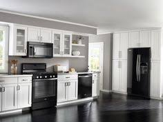 kitchen design white cabinets black appliances. Exellent Cabinets 10 Small Bathroom Remodel Ideas Worth For Every Homeowner Black Appliance  KitchenOff White Kitchen CabinetsWhite  With Design Cabinets Appliances D