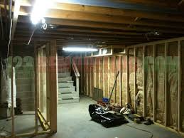 chicago basement remodeling. Contemporary Remodeling Basement Framing For Chicago Remodeling R