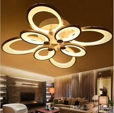 2018 dimmable led ceiling lights erfly chandeliers flush mount ceiling lights 3 6 8 heads light ceiling led kitchen lighting fixture from zidoneled
