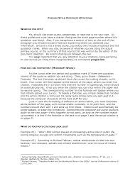 Prepossessing Chicago Style Endnotes Example Paper Pictures Format