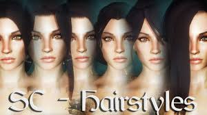 Skyrim Hair Style Mod skyrim mods sc hairstyles youtube 4896 by wearticles.com