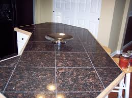 Granite Tile For Kitchen Countertops Marble Tile Kitchen Countertops