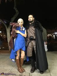 daenerys targaryen jon snow and dragon game of thrones costume photo 3 of 5