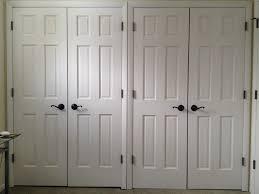 Double Swinging Kitchen Doors Easy On The Eye Double Panel Closet Doors Roselawnlutheran
