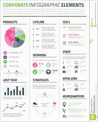 Infographic Resume Template Word Free Download Admirable 9 Best Of