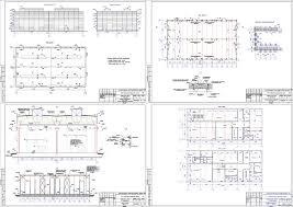 Проект промышленного здания скачать Чертежи РУ Курсовой проект Одноэтажное промышленное здание 84 х 48 м в г