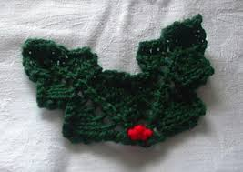 Slip knit stitch back onto first needle. Ravelry Knitted Holly Leaves Pattern By Lesley Arnold Hopkins