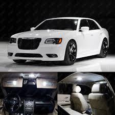 21 x Xenon White LED Interior Light Package Kit For Chrysler 300 ...
