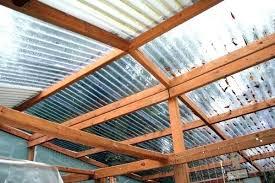 furniture clear corrugated plastic roofing menards