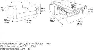 jay be sofa beds retro deep sprung sofa