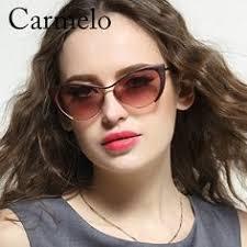 Carmelo Sunglasses Mirror Style Cat Eye High Quality Fashion ...