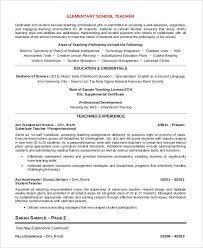 23+ Professional Teacher Resume Templates - Pdf, Doc | Free ...