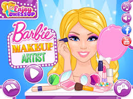 barbie haircut and makeup games new barbie video game barbie makeup artist enjoydressup