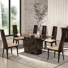 marble dining tables and chairs new with image of marble dining set fresh on gallery