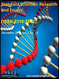 journal standard scientific research and essays standard scientific research and essays