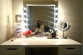 makeup vanity with led lights. makeup vanity mirror with led lights diy