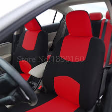 2 front seat universal car seat cover for volkswagen vw passat b5 b6 polo golf tiguan