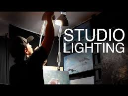 art studio lighting. STUDIO LIGHTING / How To Light Your Art Studio On A BUDGET! Lighting R