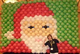 Christmas Picture Backdrop Ideas The Very Best Balloon Blog A Balloon Wall Backdrop Perfect For