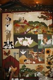 Applique Quilt Patterns | quilt size 54 x 39 old macplaids ... & Country Threads :: Animal Quilt Patterns :: Back on the Farm Quilt Pattern  Set Adamdwight.com