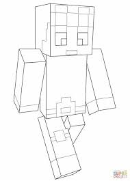 Dantdm Minecraft Herobrine Coloring Pages Hasshecom