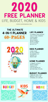 Budgeting Tools 2020 Free Planner 2020 Design A Life You Love