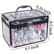 shany carry all trunk professional makeup kit 4