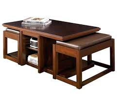 coffee table with chairs underneath coffee table with stools and storage throughout tables ideas 5 round coffee table with chairs underneath